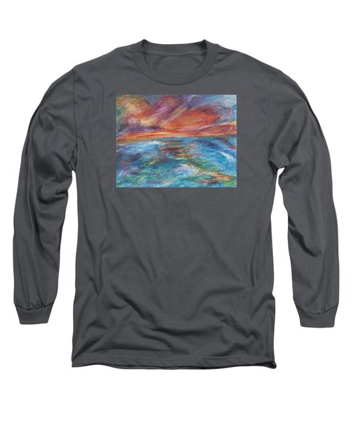 Colours Of The Sea 8 Long Sleeve T-Shirt