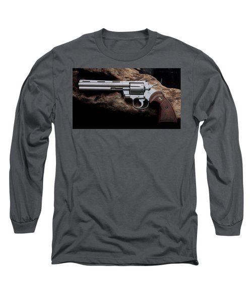 Colt Python Revolver Long Sleeve T-Shirt