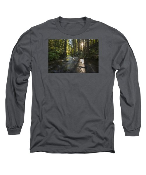 Columbia Gorge Sunrise Long Sleeve T-Shirt