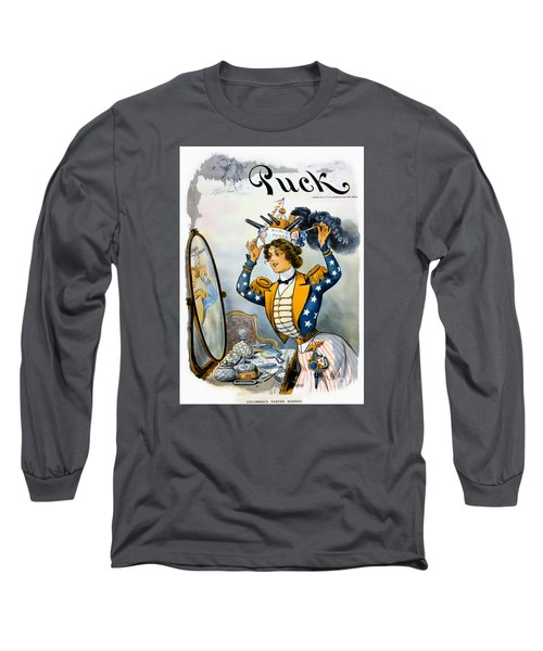Columbia S Easter Bonnet - Vintage 1901 Long Sleeve T-Shirt
