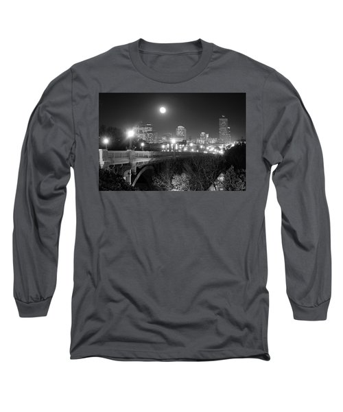 Columbia Skyline At Night Long Sleeve T-Shirt