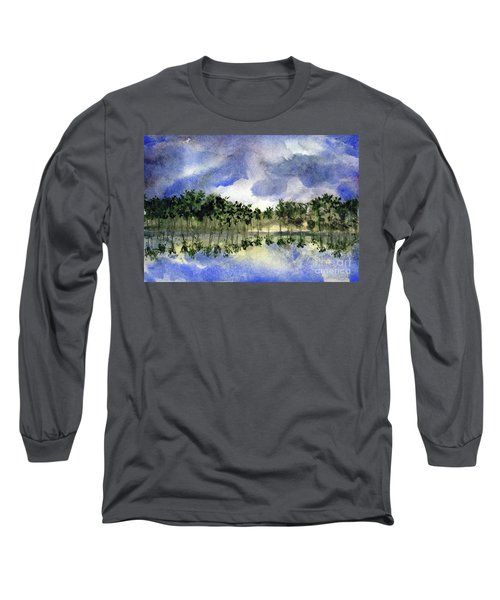 Columbian Shoreline Long Sleeve T-Shirt by Randy Sprout