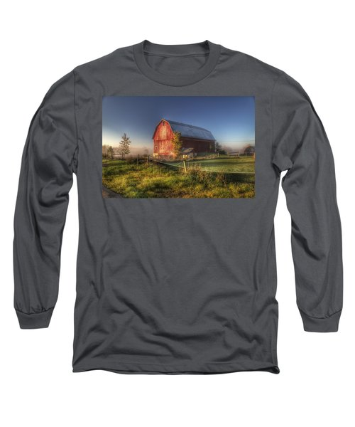 0009 - Columbiaville Red I Long Sleeve T-Shirt