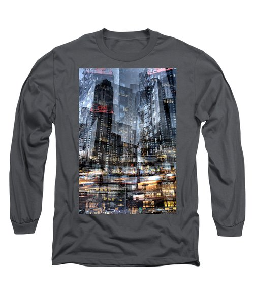 Columbus Circle Collage 1 Long Sleeve T-Shirt