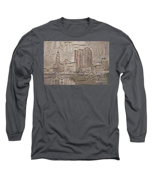 Columbus Ohio Skyline  Long Sleeve T-Shirt