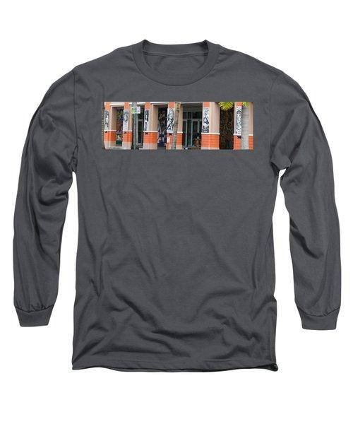 Columnart Long Sleeve T-Shirt