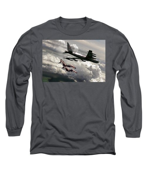 Combat Air Patrol Long Sleeve T-Shirt by Peter Chilelli