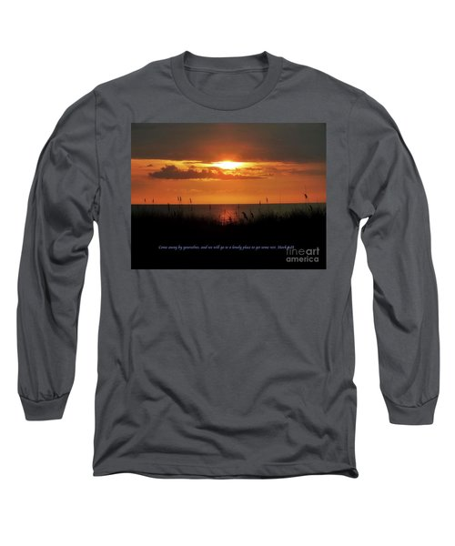 Come Away With Me  Long Sleeve T-Shirt by Christy Ricafrente