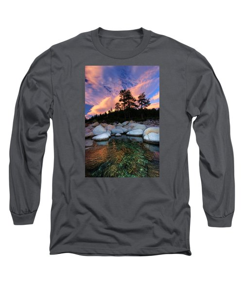Come Into My World Long Sleeve T-Shirt by Sean Sarsfield