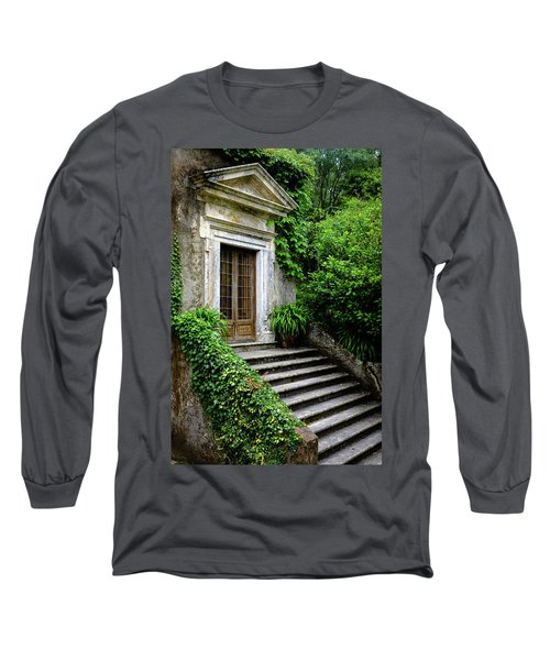 Long Sleeve T-Shirt featuring the photograph Come On Up To The House by Marco Oliveira