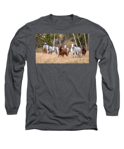Come Running Long Sleeve T-Shirt by Jack Bell