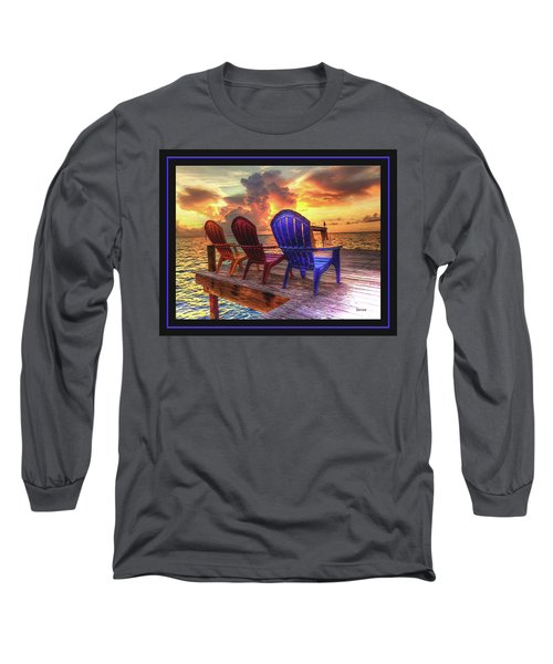 Long Sleeve T-Shirt featuring the photograph Come Sit A While by Steven Lebron Langston