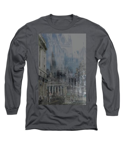 Comes The Night - City Deamscape Long Sleeve T-Shirt