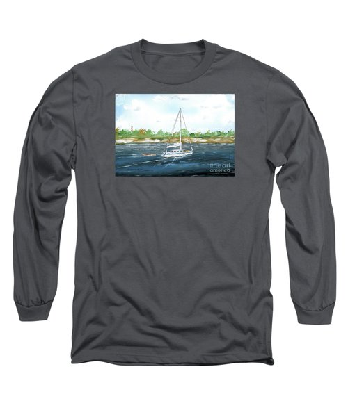 Coming Back To The Isle Of Palms Long Sleeve T-Shirt