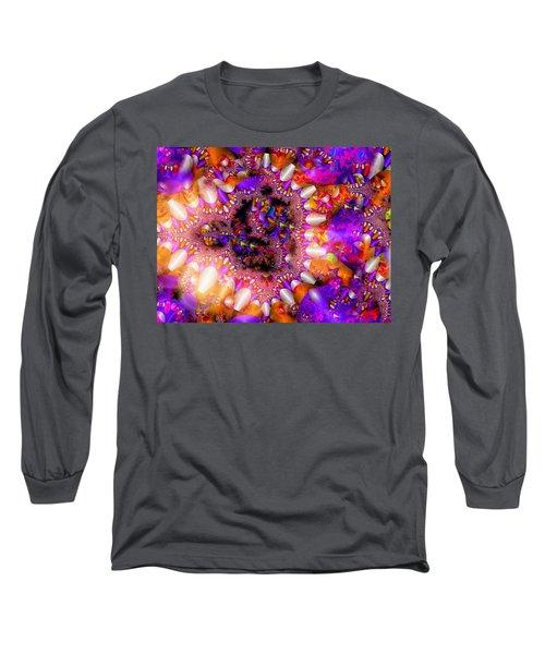 Long Sleeve T-Shirt featuring the digital art Coming Home by Robert Orinski