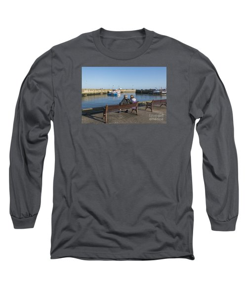 Comings And Goings Long Sleeve T-Shirt by David  Hollingworth
