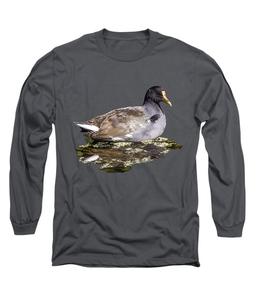 Common Gallinule Transparency Long Sleeve T-Shirt