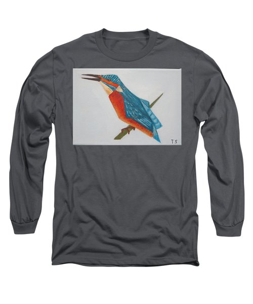 Common Kingfisher Long Sleeve T-Shirt