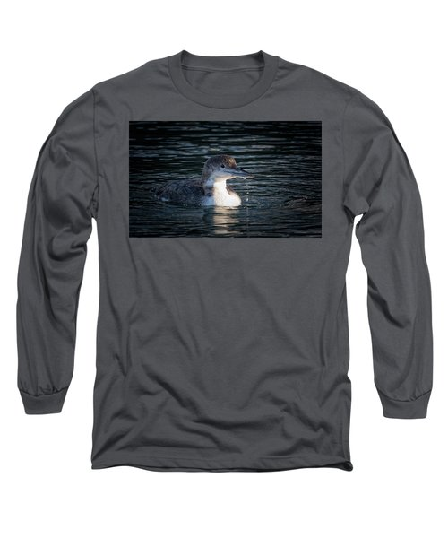 Long Sleeve T-Shirt featuring the photograph Common Loon by Randy Hall