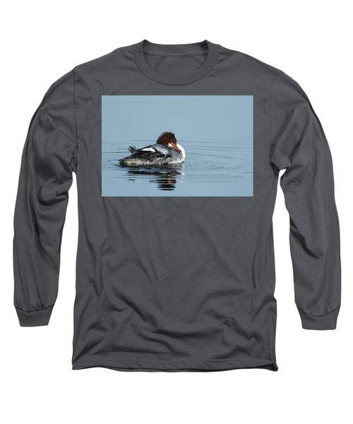Common Merganser Long Sleeve T-Shirt