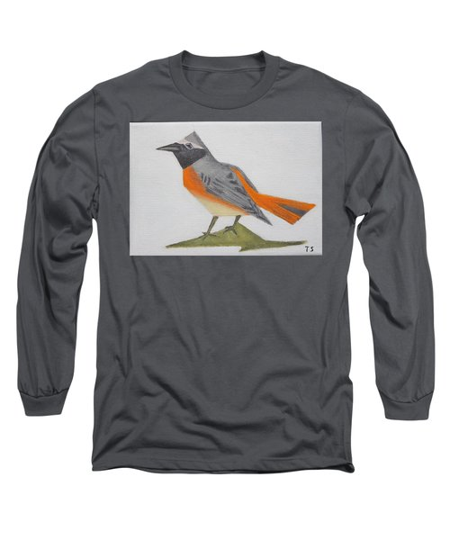 Common Redstart Long Sleeve T-Shirt
