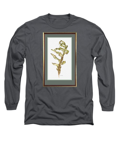 Compass Plant, Fall Long Sleeve T-Shirt by Catherine Twomey