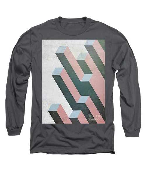 Complex Geometry Long Sleeve T-Shirt