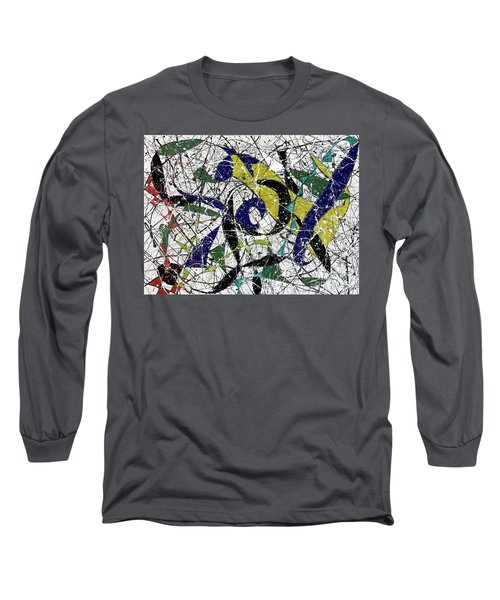 Composition #19 Long Sleeve T-Shirt