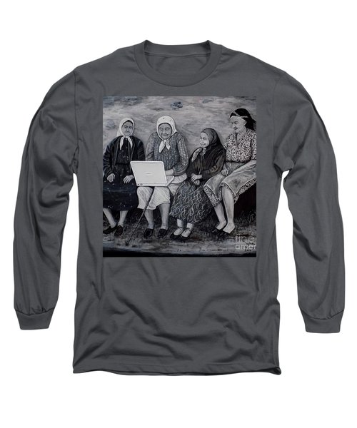 Computer Class Long Sleeve T-Shirt