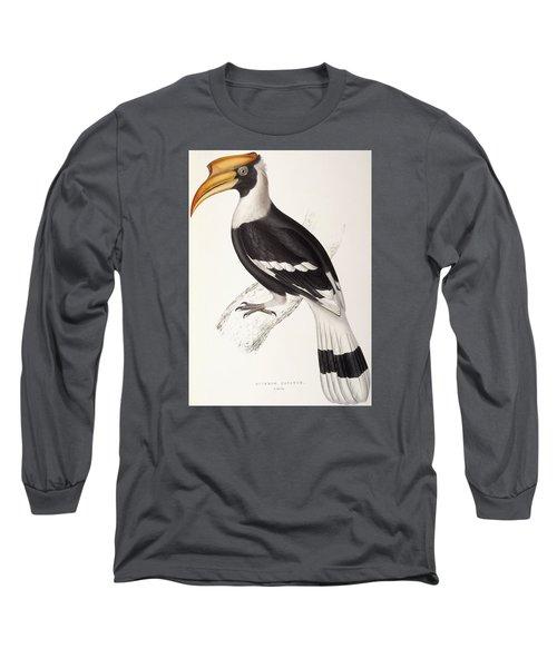 Concave Hornbill Long Sleeve T-Shirt by John Gould