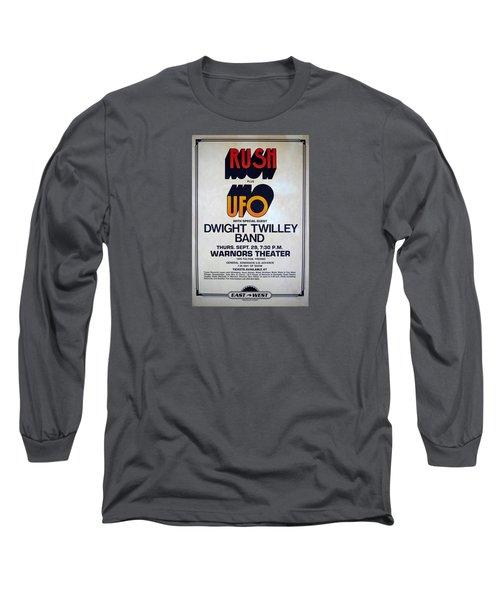Concert Poster 5 Long Sleeve T-Shirt