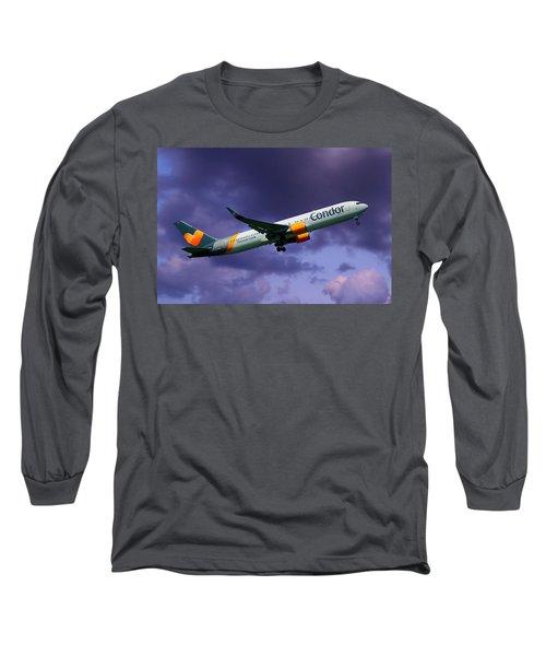 Condor Boeing 767-3q8 Long Sleeve T-Shirt