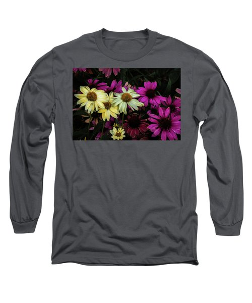 Long Sleeve T-Shirt featuring the photograph Coneflowers by Jay Stockhaus