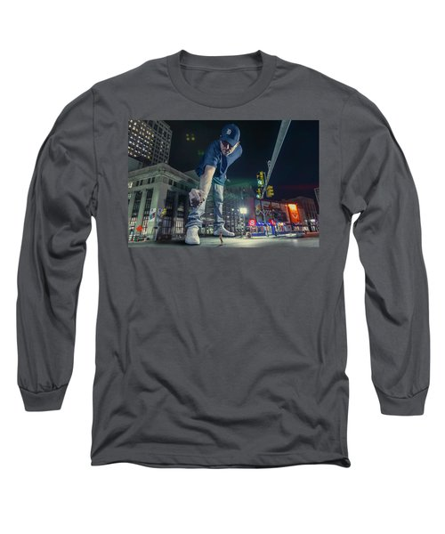 Long Sleeve T-Shirt featuring the photograph Coney Anyone? by Nicholas Grunas