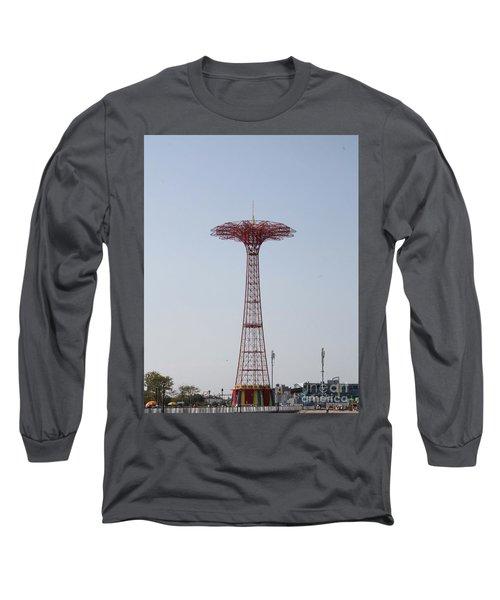 Coney Islands Parachute Jump Long Sleeve T-Shirt