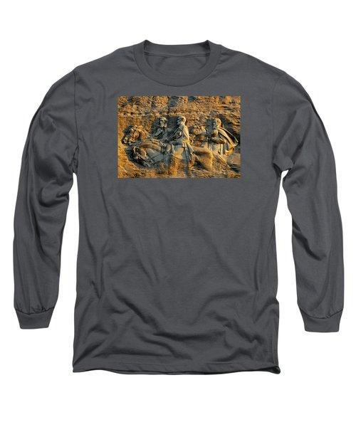 Confederate Carvings Long Sleeve T-Shirt