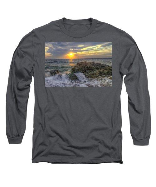 Connecticut Sunset Long Sleeve T-Shirt