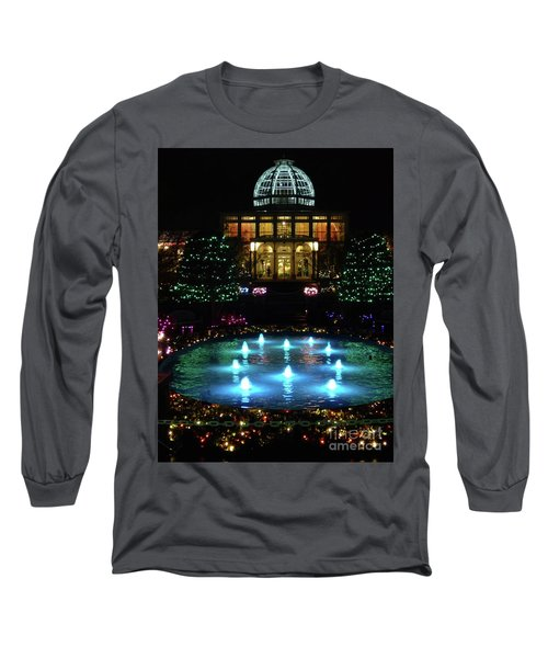 Conservatory At Night Long Sleeve T-Shirt