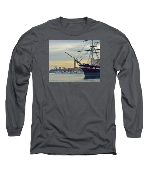 Constellation And Domino Sugars Long Sleeve T-Shirt by William Bartholomew