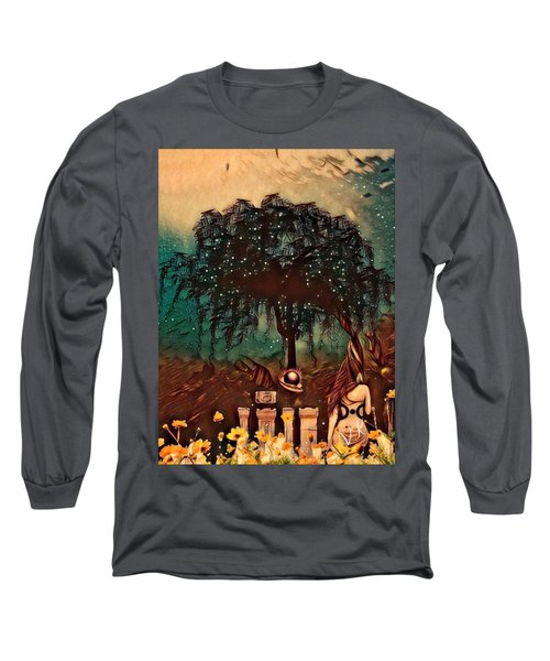 Consulting The Mother Long Sleeve T-Shirt by Vennie Kocsis