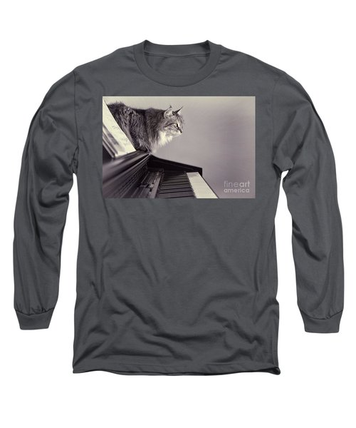 Contemplating Memory Long Sleeve T-Shirt