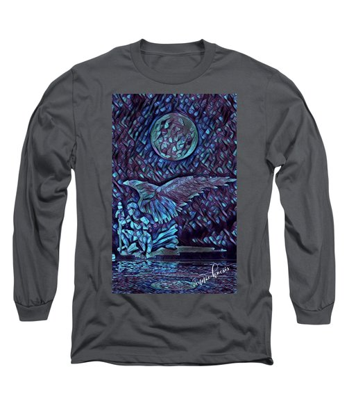 Contemplating The Next Move Long Sleeve T-Shirt