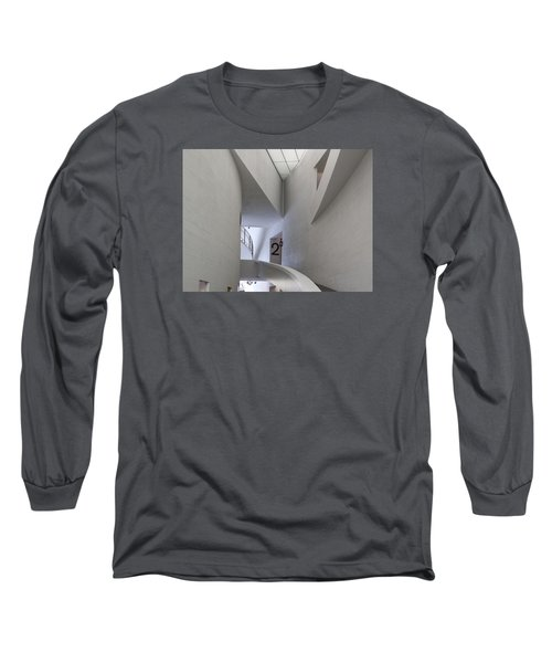 Contemporary Art Museum Interior Long Sleeve T-Shirt
