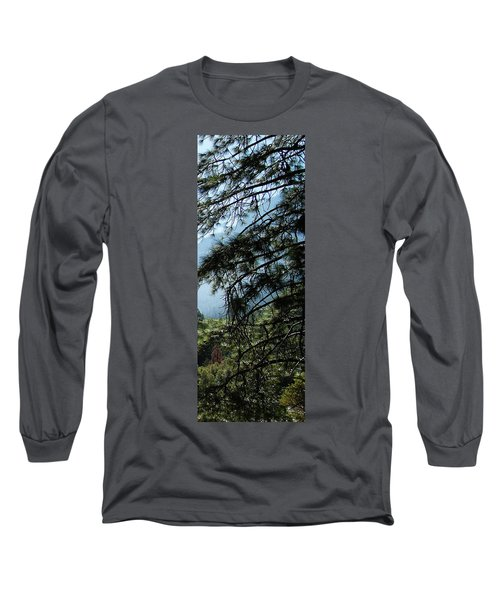 4 Of 4 Controlled Burn Of Yosemite Section Long Sleeve T-Shirt