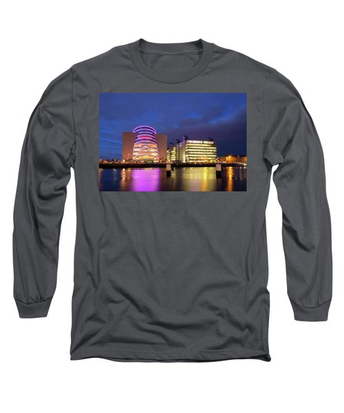 Convention Centre Dublin And Pwc Building In Dublin, Ireland Long Sleeve T-Shirt
