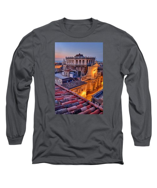 Convento Di San Giuliano Long Sleeve T-Shirt by Robert Charity