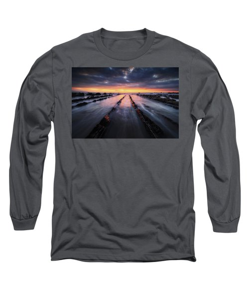 Converging To The Light Long Sleeve T-Shirt