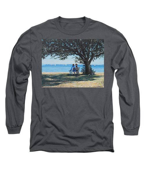 Conversation In The Park Long Sleeve T-Shirt