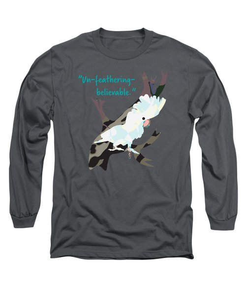 Cookie Cockatoo Long Sleeve T-Shirt by Geckojoy Gecko Books