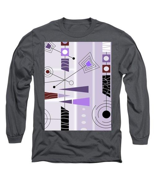 Cool New Purple Long Sleeve T-Shirt